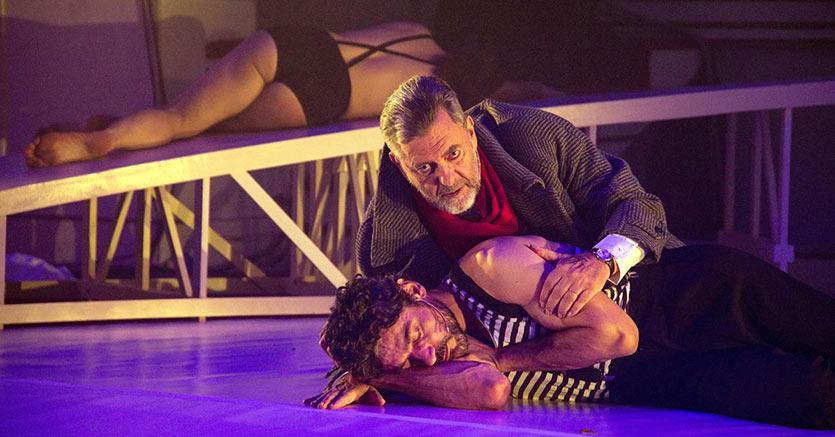 GiuseppeZeno  e AndreaGiordana - foto di Salvatore Pastore