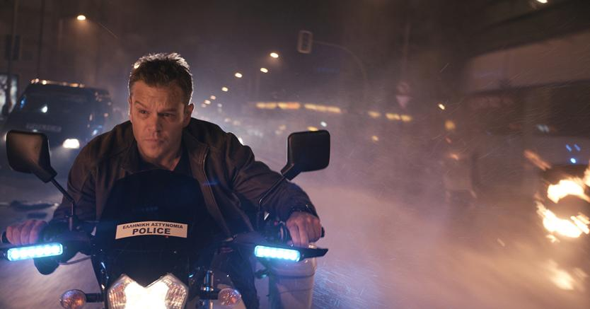Matt Damon in una scena di «Jason Bourne»
