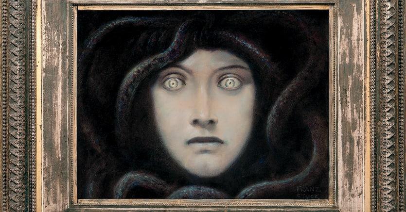 «Testa di Medusa» (1892), collezione privata