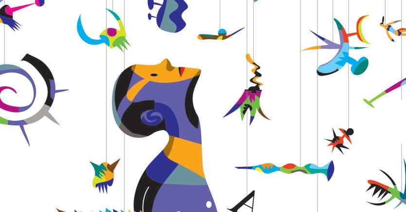 L'illustrazione di Domenica Rosa , nella copertina de «Gli imprenditori» (Marsilio)