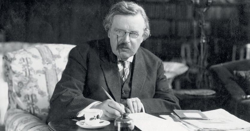 Inglese & cattolico.Lo scrittore Gilbert Keith Chesterton (1874-1936)