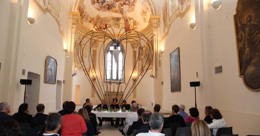 La celebrazione del Premio Malaparte nella Certosa di San Giacomo, a Capri