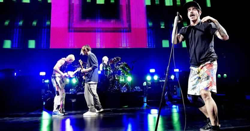 In 14.000 per i Red Hot Chili Peppers a Bologna