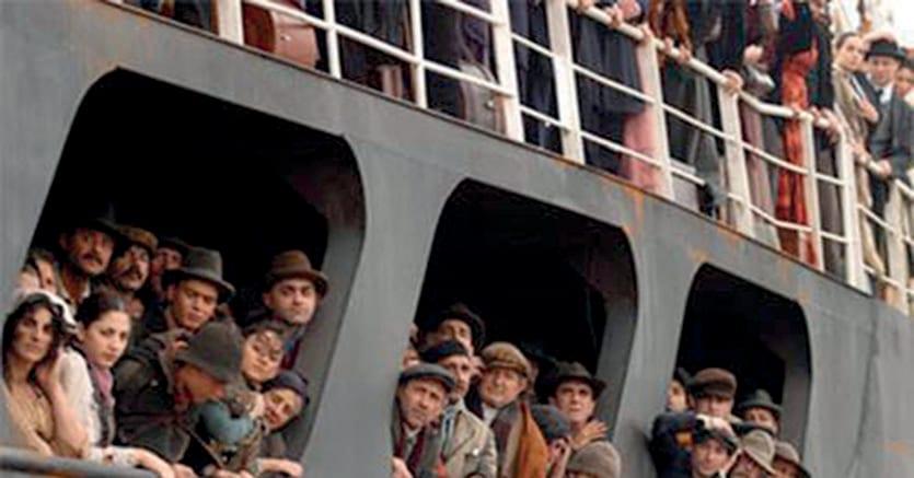 Nuovomondo. Un'immagine del film  di  Emanuele Crialese (2006)