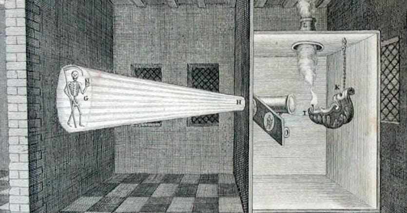 Le origini della fotografia.La lanterna magica di Athanasius Kircher