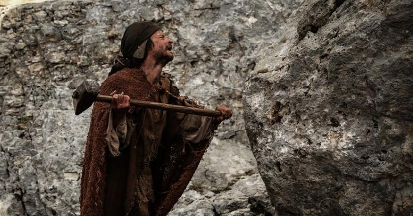 «Monte» di amir Naderi, Andrea Sartoretti è Agostino