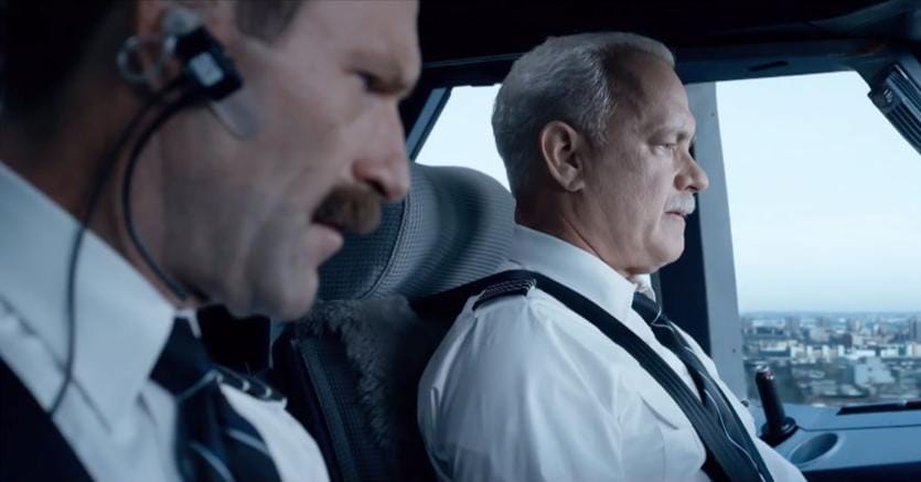 «Sully» di clint eastwood. Tom Hanks è Sully
