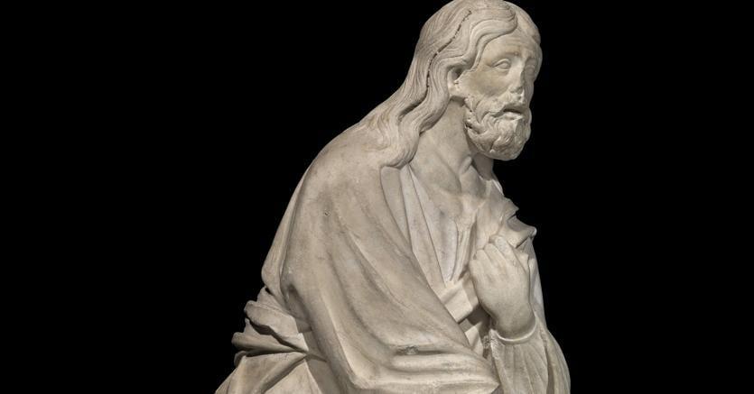 Arnolfo di Cambio.«Apostolo» (part.)