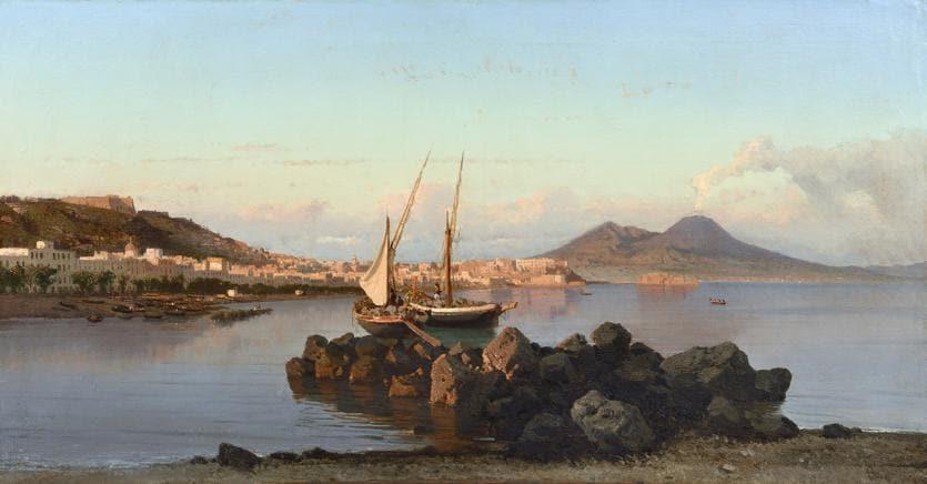 Napoli, Sgarbi inaugura la mostra