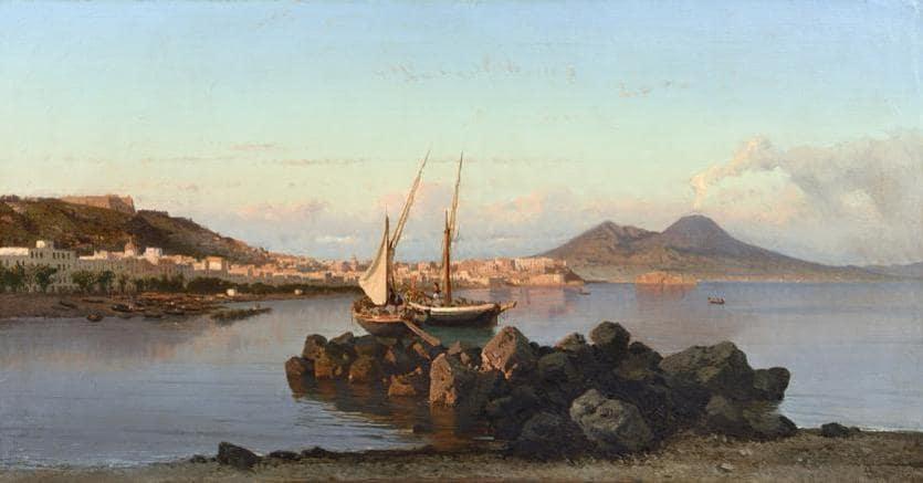 Alessandro La Volpe, Scene di pesca, 1866