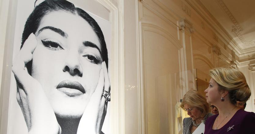 Una mostra dedicata a Maria Callas a Mosca nel 2011 (Afp)