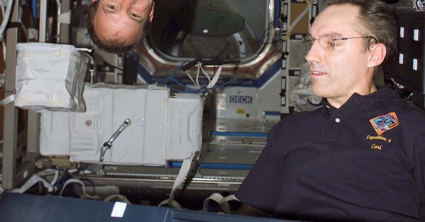 Gli astronauti suonano in assenza di gravità a bordo della Stazione spaziale internazionale