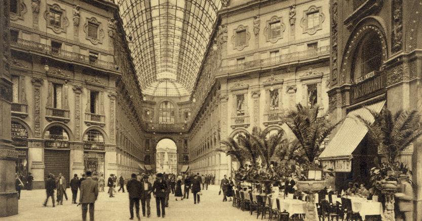 La Galleria di Milano (Contrasto)