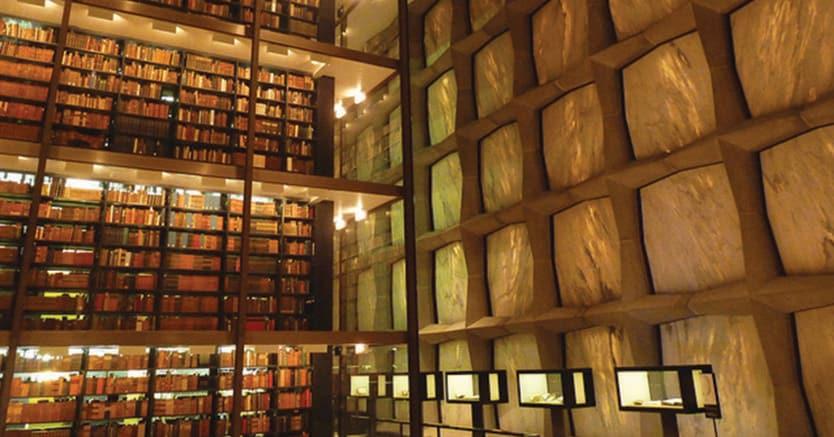 Monumentale.La Beinecke Library della Yale University: qui, negli anni 70, è finita gran parte della collezione Bonfiglioli