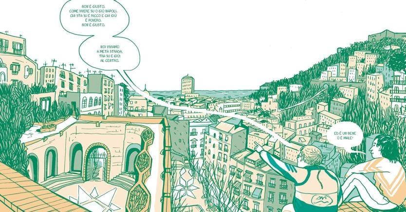 Illustrazione da «Quasi Signorina», di Cristina Portolano, edizioni Topipittori