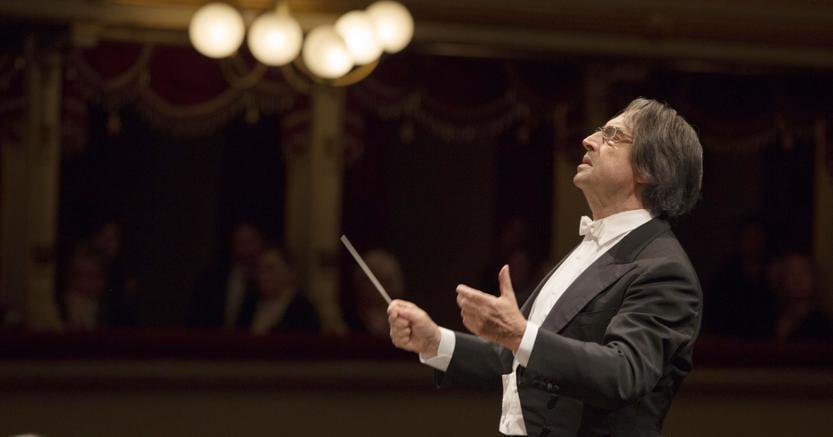 Milano, 20 gennaio 2017: il Maestro Riccardo Muti sul podio. (Foto Silvia Lelli per Teatro alla Scala)