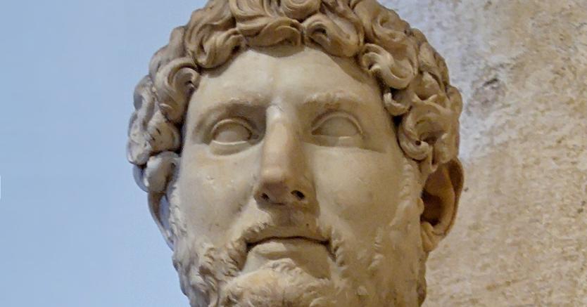 Icona. Busto di Adriano ai Musei Capitolini