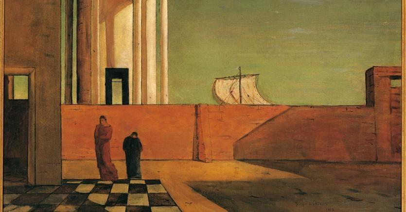 Disperso. V.S. Naipaul e «L'enigma dell'arrivo» di De Chirico