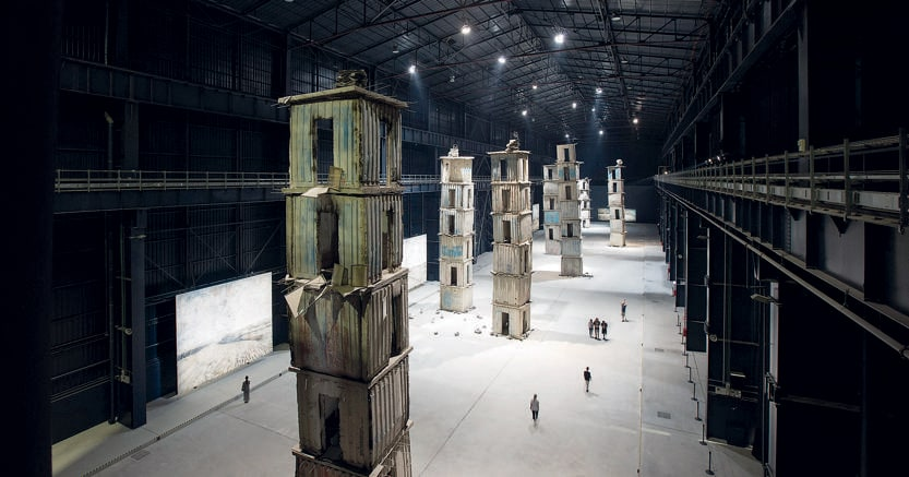 Capolavoro contemporaneo.«I Sette Palazzi Celesti» l'installazione permanente realizzata da Anselm Kiefer all'HangarBicocca di Milano