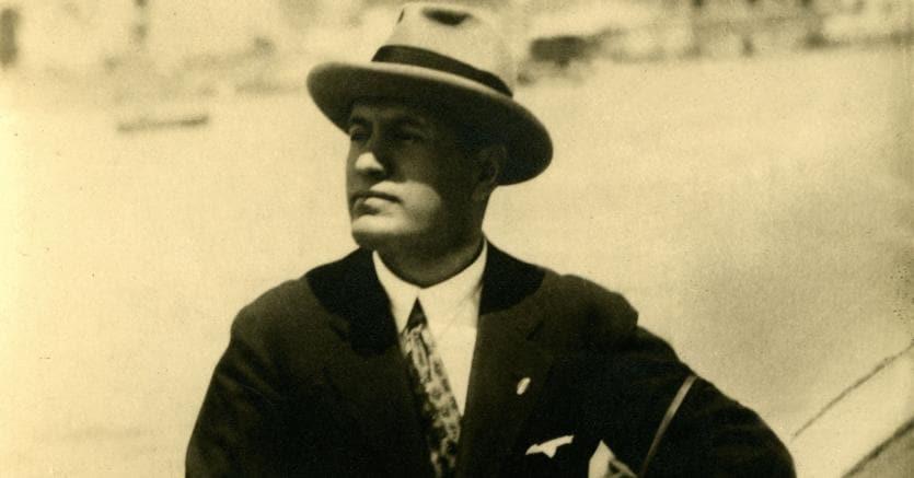 Giovane. Benito Mussolini  in una foto anteriore agli anni Venti