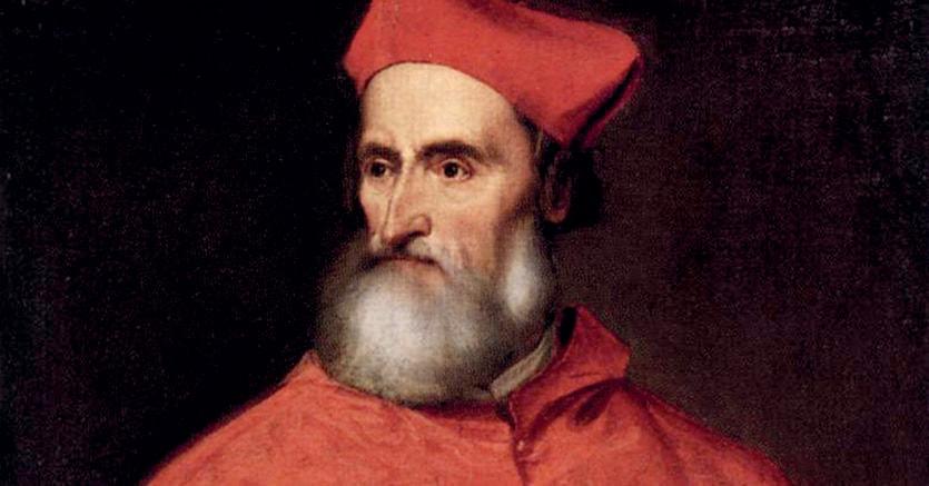 Tiziano Vecellio, «Ritratto del cardinale Pietro Bembo», 1539-1540,  Washington, The National Gallery of Arts