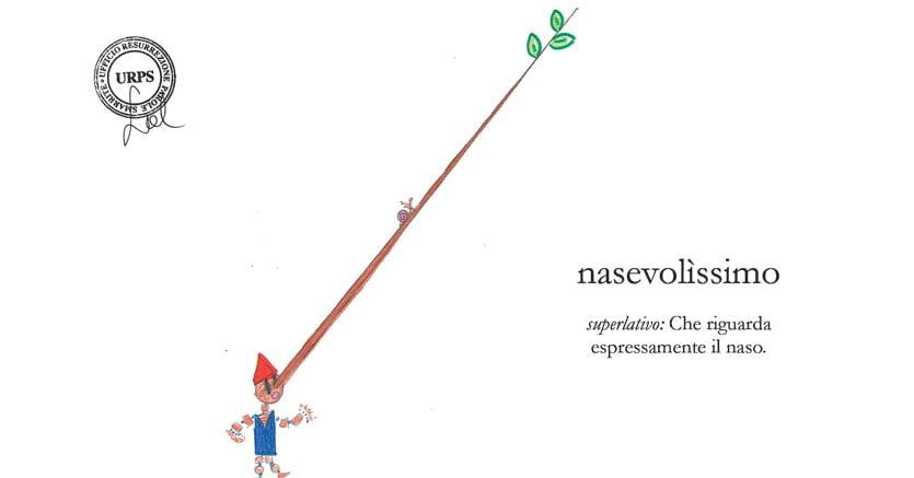 """NASEVOLÌSSIMO, illustrato da Olivia Verità, VC, Scuola Primaria di Calci """"Vittorio Veneto"""", (PI)"""
