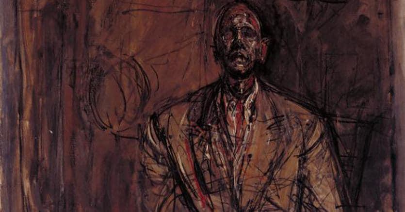 Jean Genet  by Alberto Giacometti