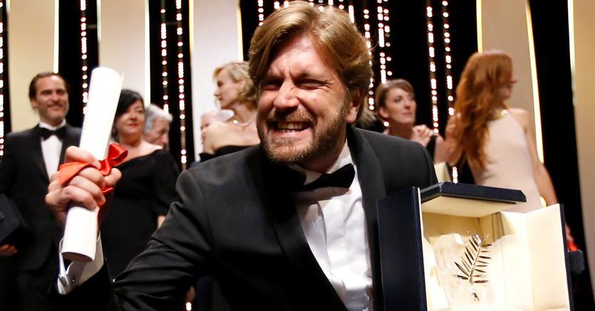 Il regista Ruben Östlund, vincitore della  Palma d'oro per il suo film «The Square»