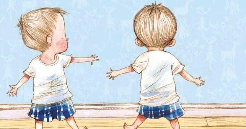 Alla ricerca di una direzione. Illustrazione tratta da «Dov'è Orso?» di Jonathan Bentley (Mondadori, Milano, pagg. 32, ill., € 14) © 2016 Jonathan Bentley, © 2017 Mondadori Libri S.p.A., Milano, per l'edizione italiana
