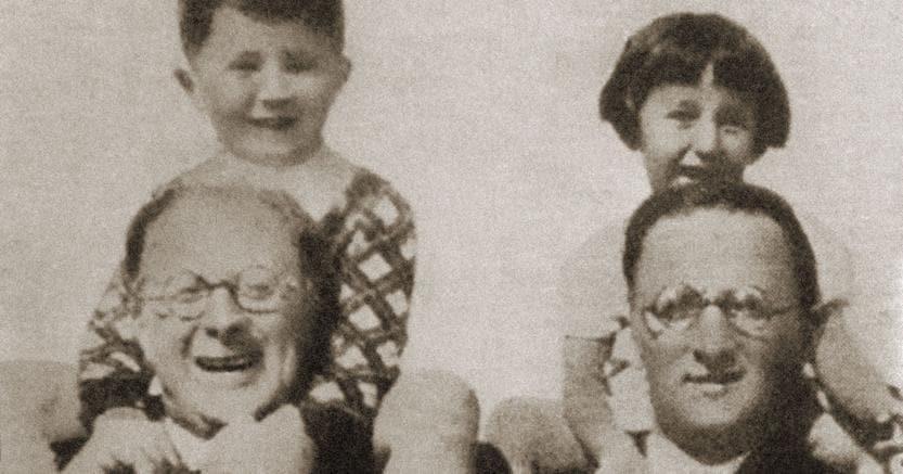 Antifascisti. Carlo (a sinistra) e Nello Rosselli, in un momento di svago nel 1934