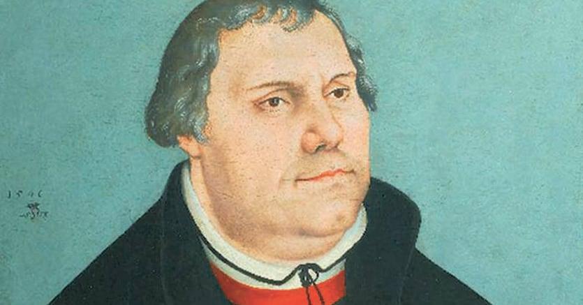 Riformista. Ritratto di Martin Lutero (1546). Collezione privata