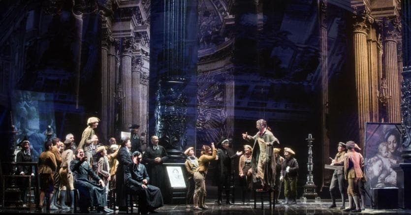 Tosca, atto I. (Fabio Parenzan)