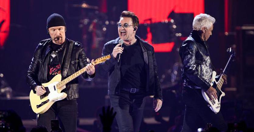 Roma, la notte degli U2