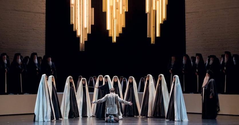 La Großes Festspielhaus di Salisburgo con l'«Aida» diretta Riccardo Muti per la regia di Shirin Neshat