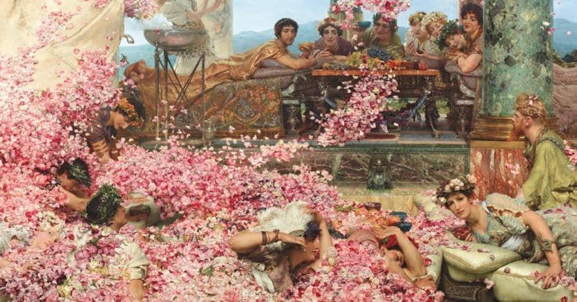 Le rose di Eliogabalo di Lawrence Alma-Tadema