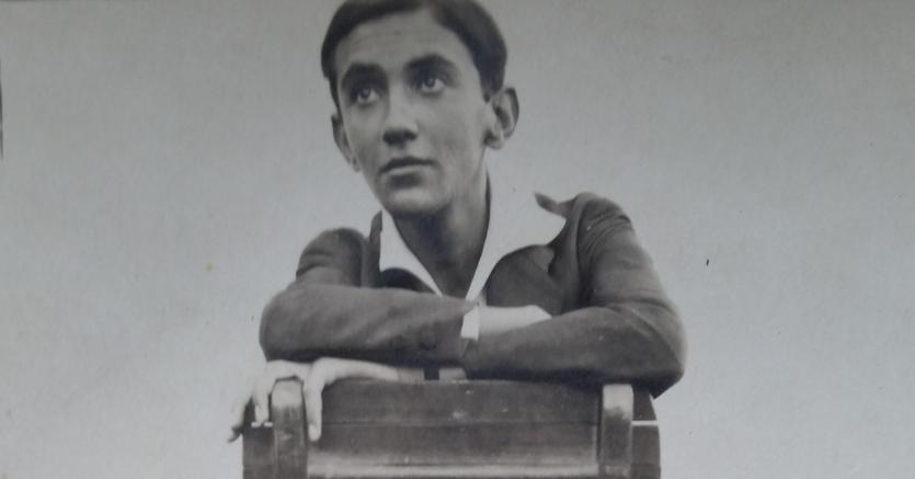 Editore e scopritore, Bobi Balzen in una foto giovanile inedita