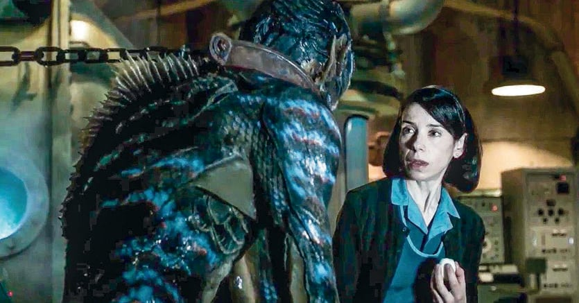 «The shape of water» di Guillermo del Toro