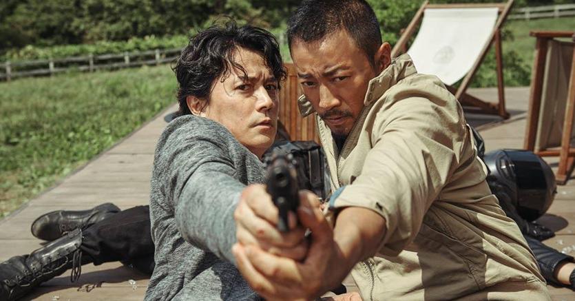 Una scena dal film «Manhunt» di John Woo