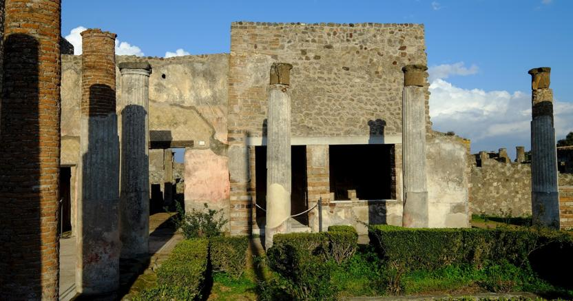Antica Pompei, la Casa del Marinaio (Marka)