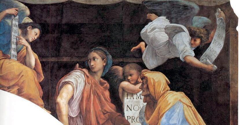 Dal disegni al dipinto. Raffaello Sanzio, «La Sibilla Cumana», disegno conservato nella collezione dell'Albertina di Vienna, preparatorio per l'analoga figura realizzata da Raffaello nella chiesa romana di Santa Maria della Pace nel 1511 circa