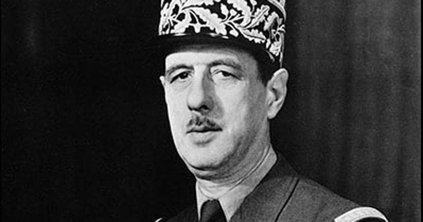 Il generale. Charles de Gaulle (Lilla 1890 - Colombey-les-Deux-Églises, Haute-Marne, 1970)