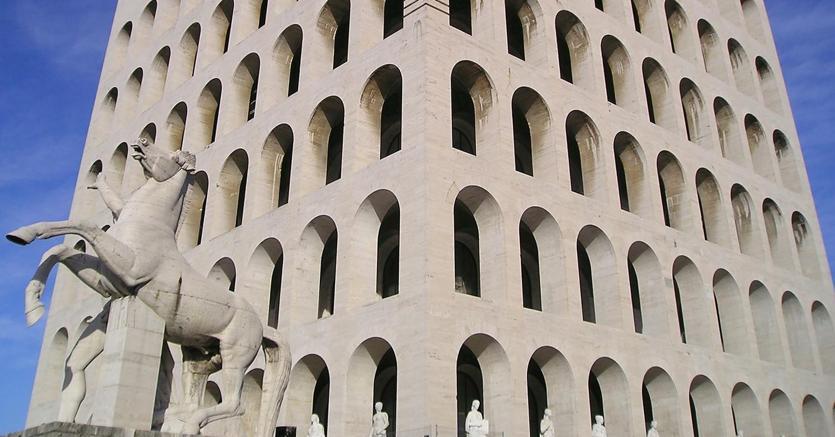 Roma, Palazzo della Civiltà Italiana (Agf)