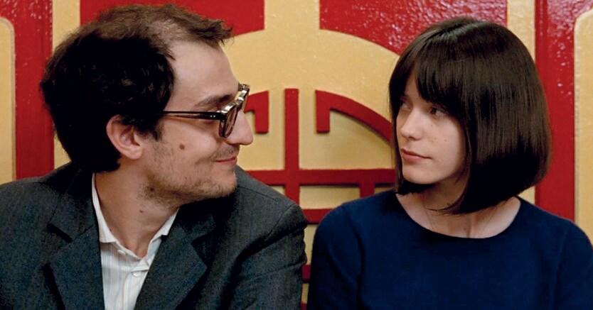 Dolce amaro. Philippe Garrel è Jean-Luc Godard e Stacy Martin (Anna)