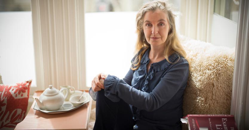 Rebecca Solnit, scrittrice e saggista californiana (Contrasto)