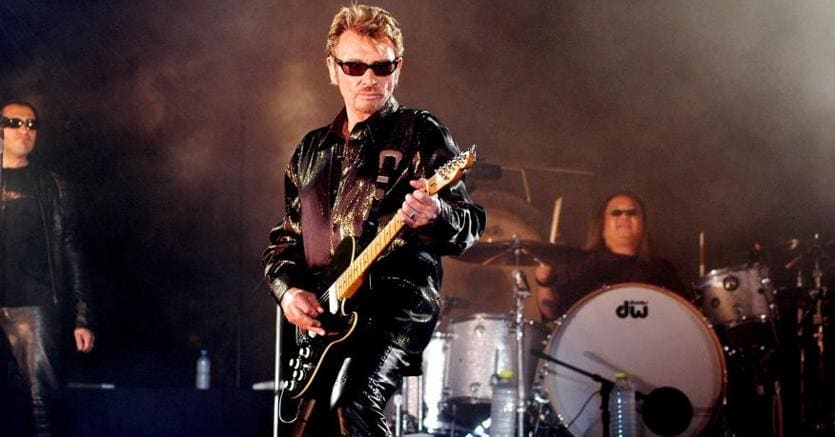 E' morta la rockstar Johnny Hallyday