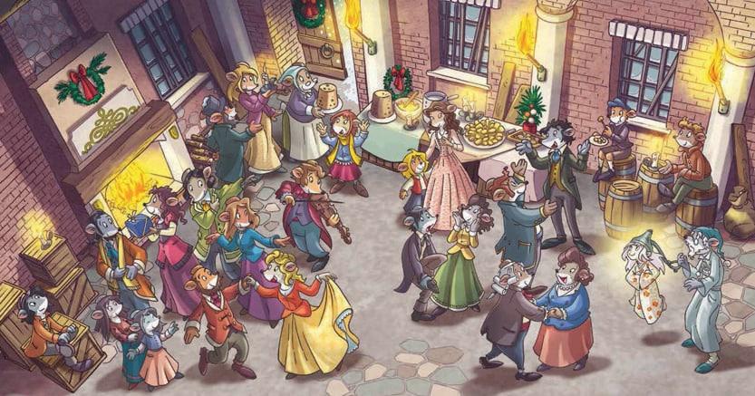 Natale a Topazia.«Il canto di Natale» di Charles Dickens nella versione topesca di Geronimo Stilton(Piemme, pagg. 224, € 15,50)