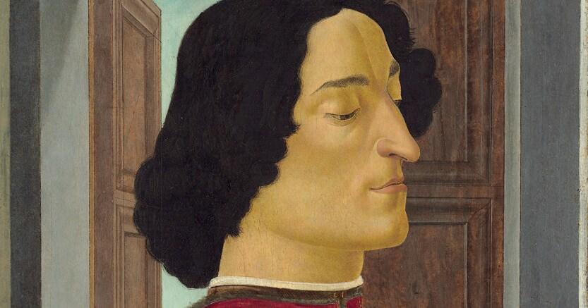 Coraggioso  e aitante. Sandro Botticelli, «Giuliano de' Medici», 1478 - 1480, National Gallery of Art  di Washington.