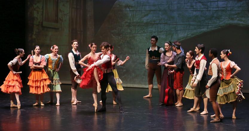 Teatro Comunale di Vicenza, il Ballet Nacional dell'Uruguay (foto Francesco Dalla Pozza)