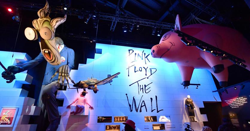 Pink Floyd, partirà da Roma la mostra itinerante mondiale
