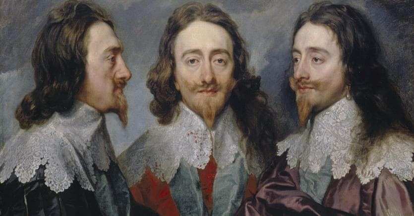 Anthony van Dyck, Charles I, 1635-6, oil on canvas, 84,4x 99,4 cm, RCIN 404420, Royal Collection Trust / © Her Majesty Queen Elizabeth II 2017